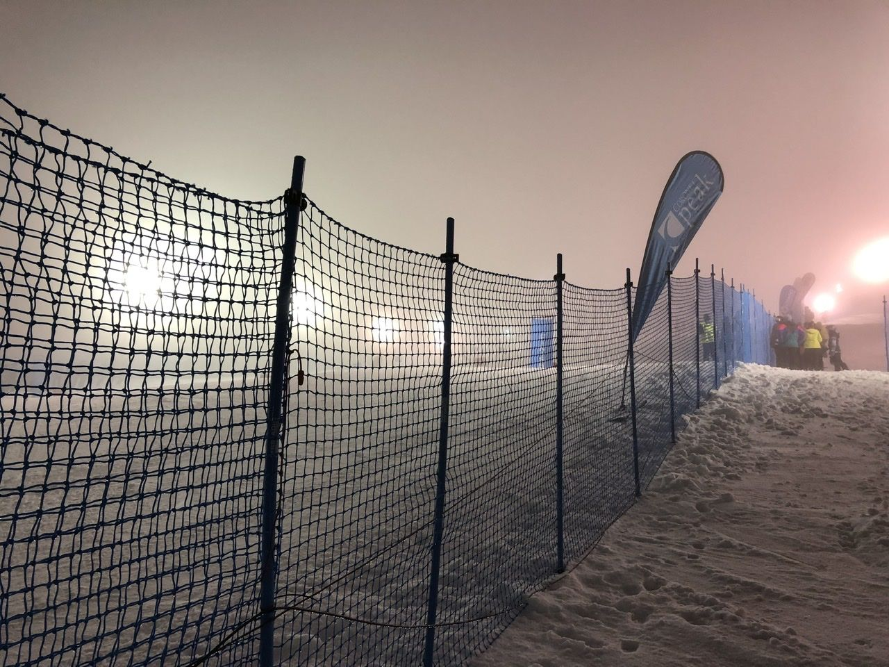 Winter Games in the clouds