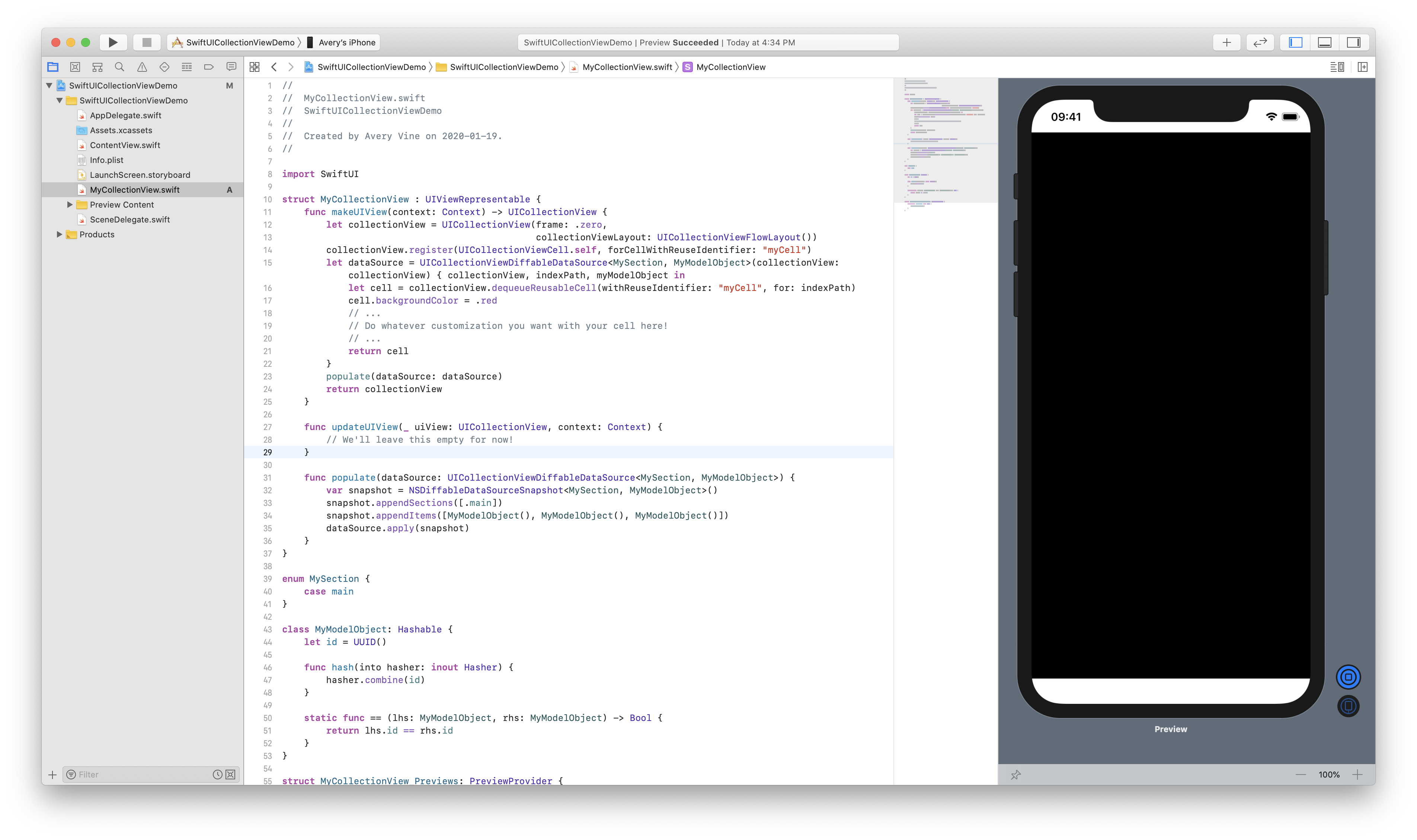 Collection in SwiftUI